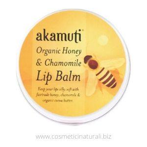 Lip Balm Akamuti miele e camomilla