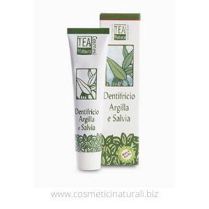 dentifricio Tea Natura Argilla e Salvia