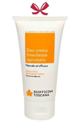 Deo Crema Freschezza Agrumata Biofficina Toscana