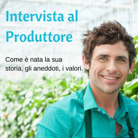 Intervista al Produttore - Cosmetici Naturali