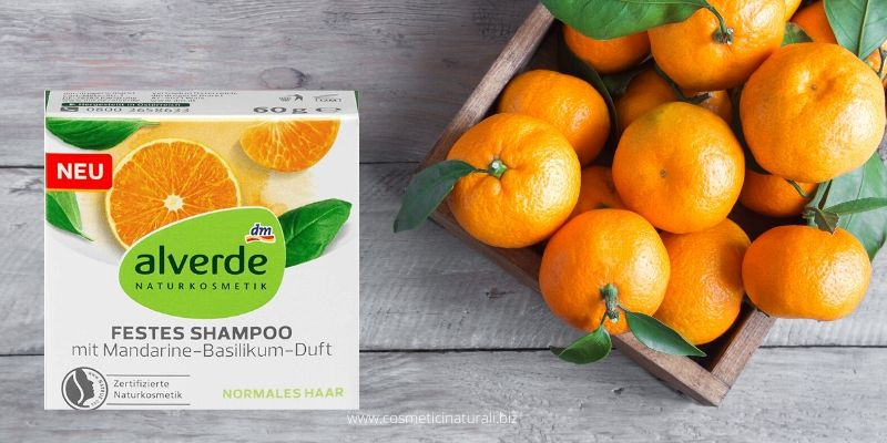 Shampoo Alverde al mandarino