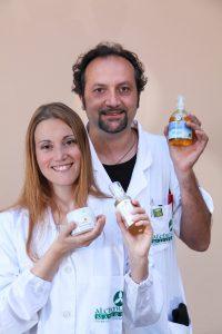 Maria Elena Setti e Alessandro Biancardi di Alchimia Natura