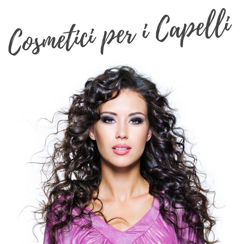 Cosmetici naturali per i capelli