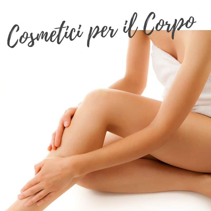 Cosmetici naturali per il corpo