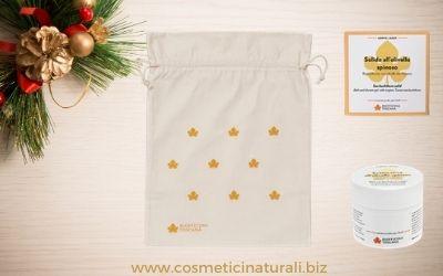 Idee regalo cosmesi all'olivello spinoso di Biofficina Toscana