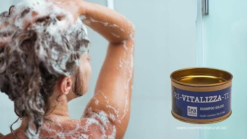 Shampoo solido Tea Natura Rivitalizzante
