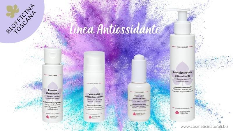 Cosmetici naturali atiossidanti Biofficina Toscana