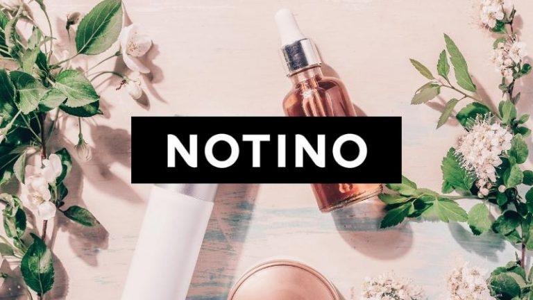 Notino vende cosmetici naturali