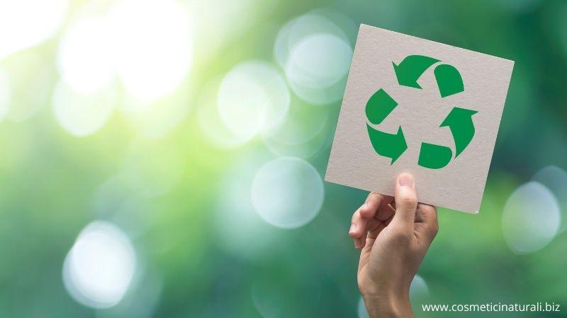 Packaging cosmetici riciclabile