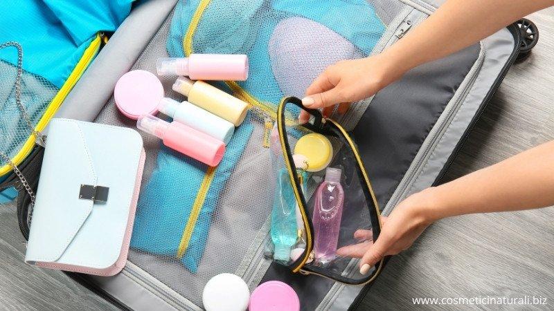 Cosmetici da portare in vacanza