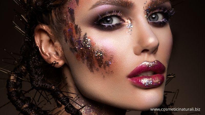 Make up effetto shimmer